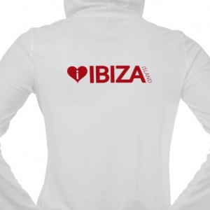 i love ibiza island womens hoodie jacket